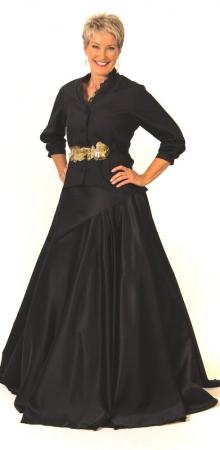 Fiona bodice, Oakley skirt
