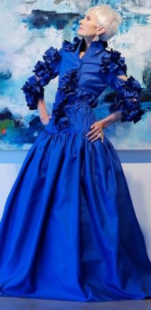 Judith in Blue