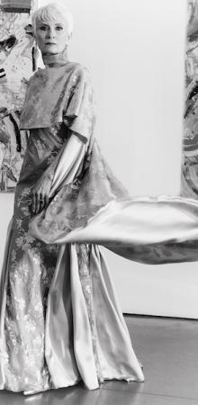 Judith in grey