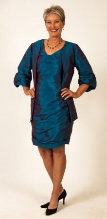 Luna jacket, Abbey dress