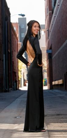 Alexi dress side view