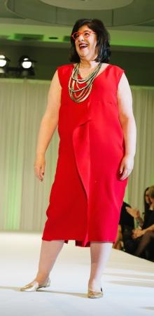 Ellen red sheath
