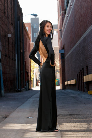 Alexi dress, back