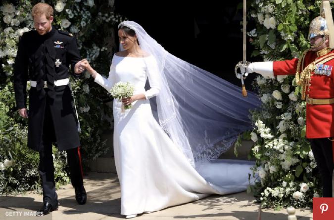 meghan markle wedding dress custom wedding dress designer