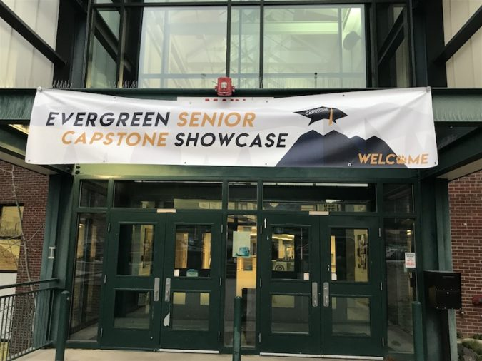 evergreen high school senior capstone showcase