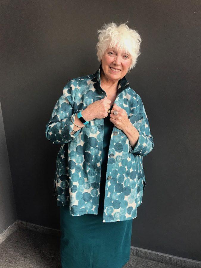 custom made linen blouse designer in denver colorado