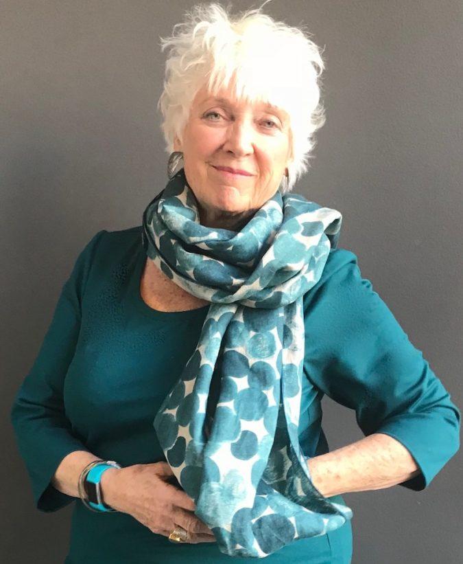 custom made scarf clothing design denver
