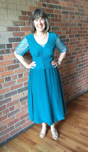 teal blue mother of the bride dress designer in denver