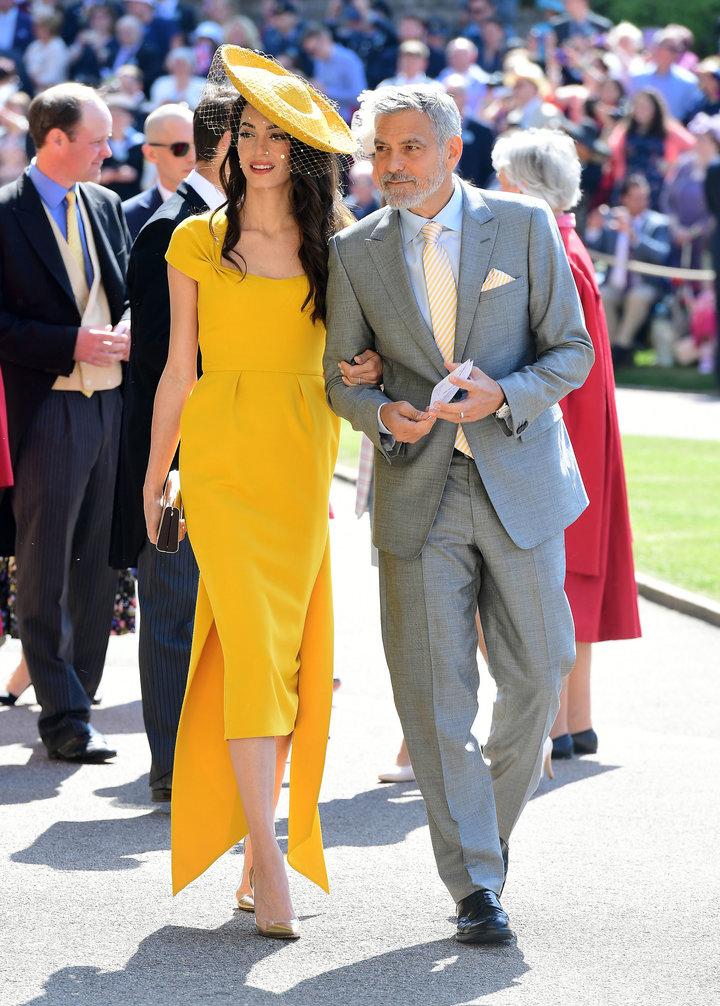 amal clooney royal wedding