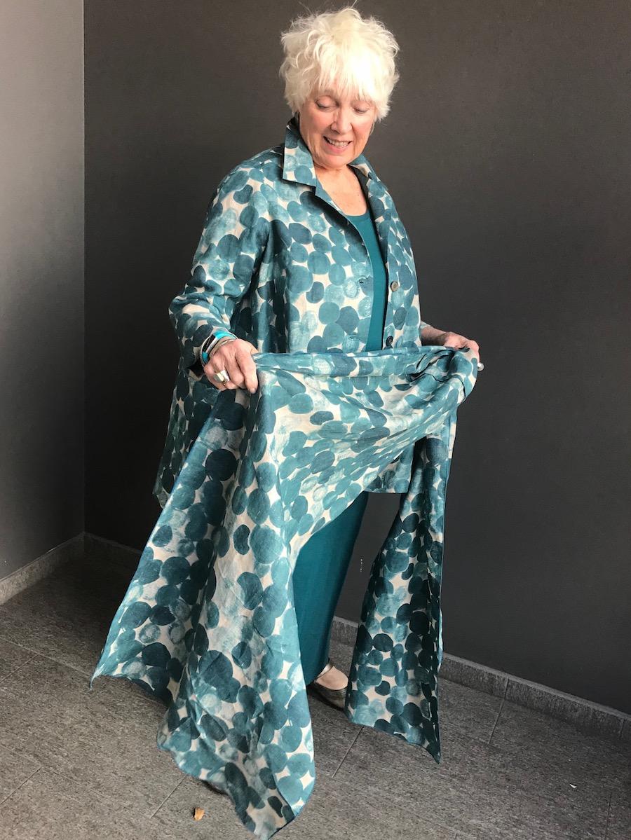 Custom-Made Linen Blouse