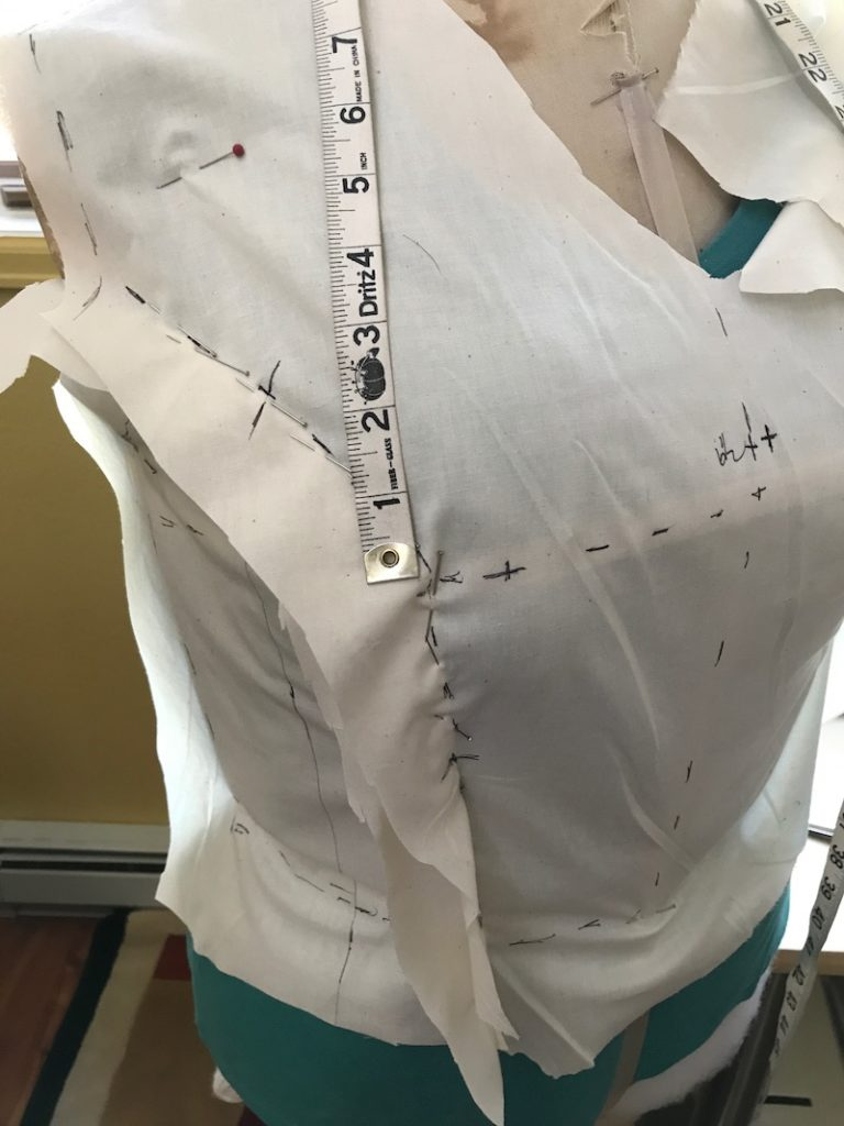 Muslin prototype clothing designer denver