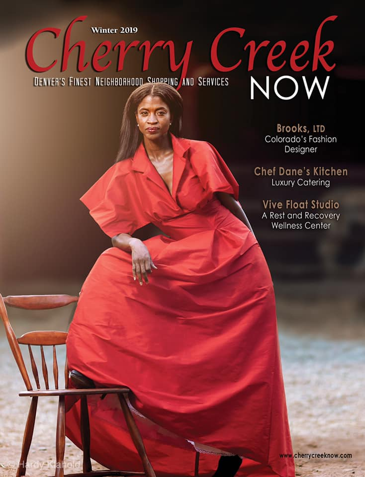 fashion designer in denver cherry creek magazine