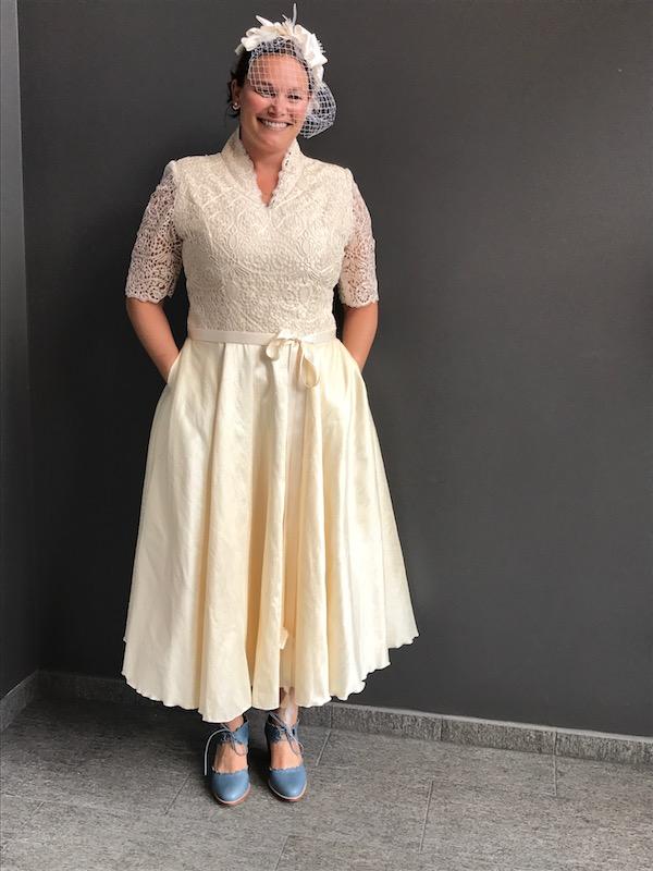 A Custom Wedding Dress Designed for Sarah