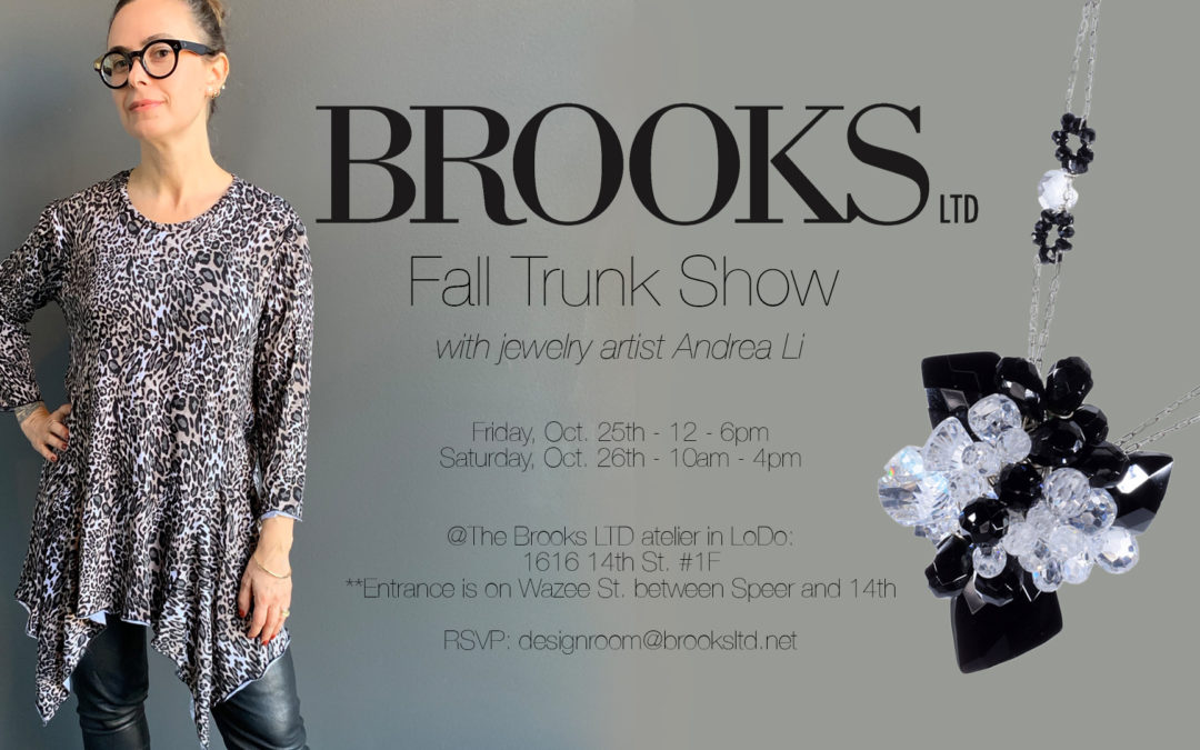 Save the Date: Fall Trunk Show