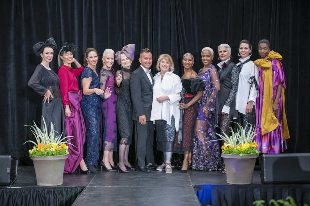 Brooks LTD runway show custom gowns at the Mayor Hancock Diversity and Inclusion Awards presented by the Denver Commission on Aging