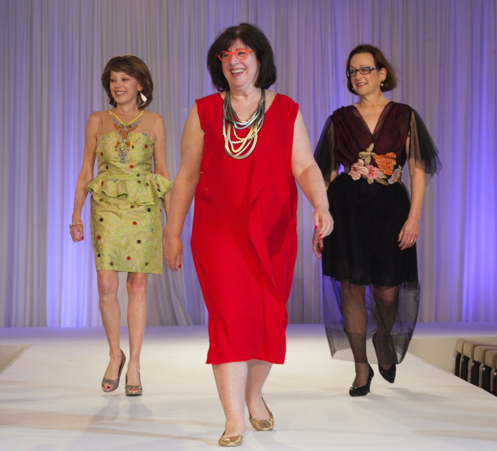 A shot from the 2015 Sue Miller Day of Caring runway. Image by Hardy Khahold