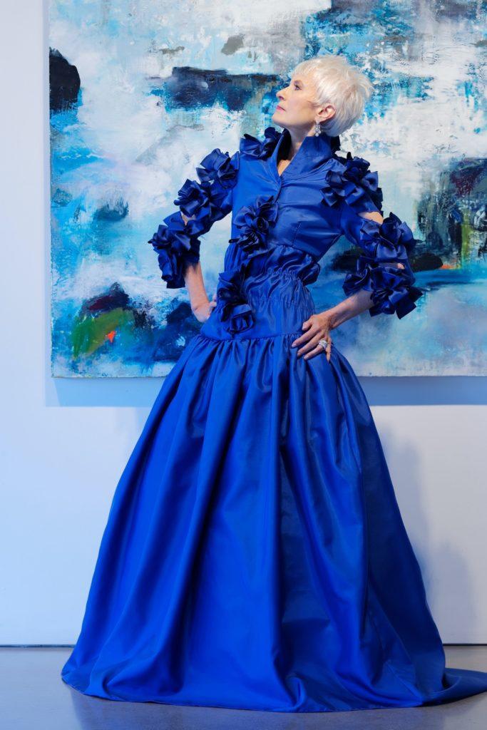 A Brooks LTD custom made original shirtwaist dress, seen on StyleCrone
