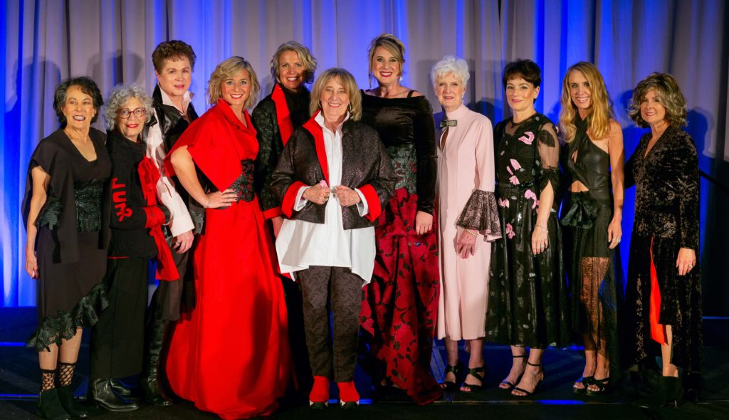The 2018 Sue Miller Day of Caring lineup in my latest couture Brooks LTD creations. Photo by Hardy Klahold.