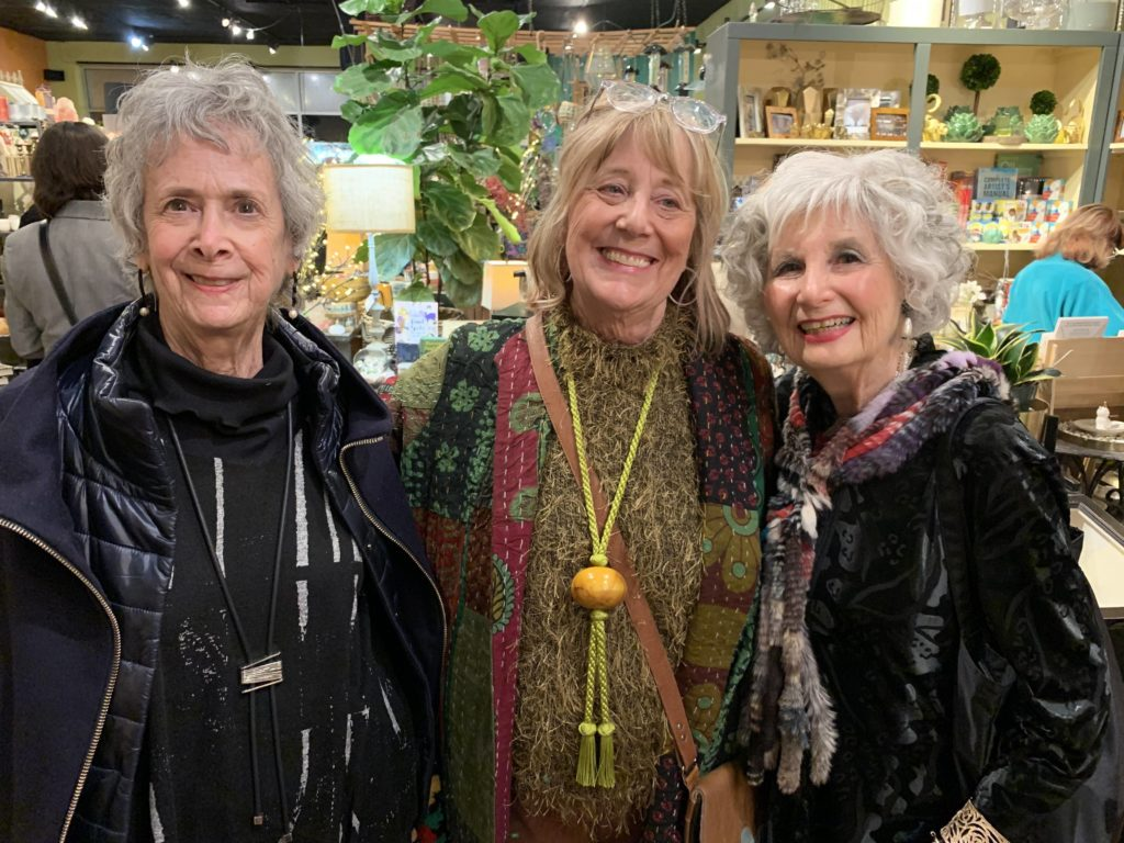 Myself and two friends (both in Brooks LTD!) enjoying ourselves at Ari Seth Cohen's book signing