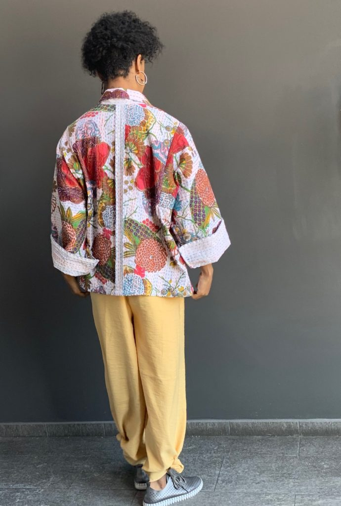 Back details of the Everly Short Jacket