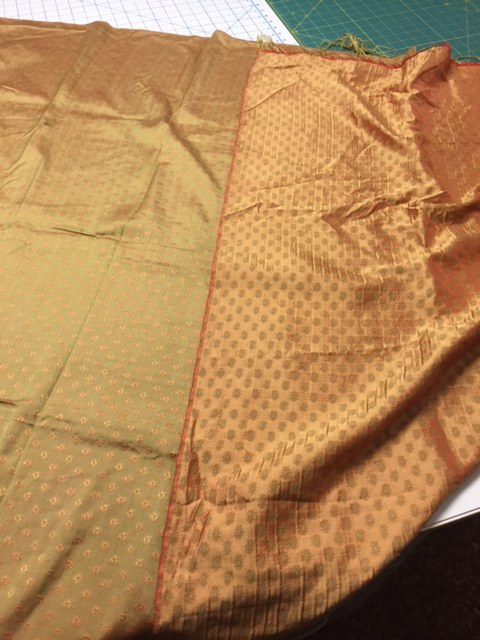 "Finding the ""right"" side of the fabric for a custom ensemble is a critical step in the process."