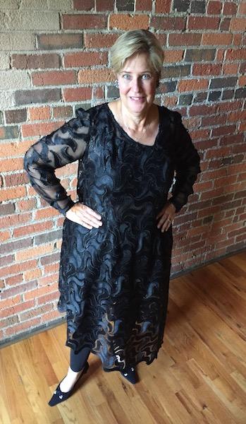 custom prom gown black prom dress
