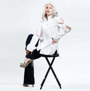 Women's classic white shirt